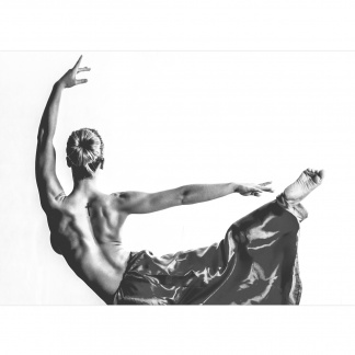 Photo art ballet dancer