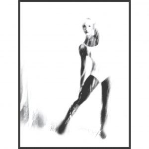 Photo print dancer